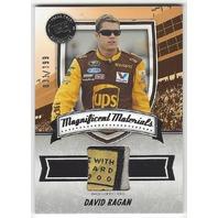 David Ragan 2011 Press Pass FanFare Magnificent Materials #MMDR /199