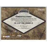 Dale Earnhardt Jr Bill Elliott NASCAR 2010 PressPass Legendary Links /25