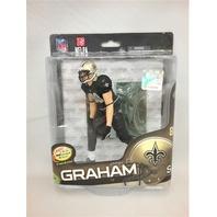 2014 Jimmy Graham McFarlane Delux Figure New Orleans Saints SPD NFLPA NFL 24