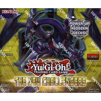 Yugioh The New Challengers 1st Edition Booster Box (Sealed)
