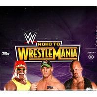 2014 Topps WWE Road To Wrestlemania Hobby Box (Sealed)