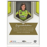 Danica Patrick 2013 PressPass Magnificent Materials Race Used Sheet Metal /50