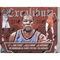 2015/16 Panini Excalibur Basketball Hobby Box (Sealed) (6 Packs)