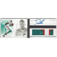 Daniel Thomas Miami Dolphins 2013 Panini Playbook Rookie Autograph Patch RC /399