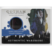Gotham Before Legend Robin Lord Taylor Oswald Cobblepot Wardrobe relic card #M06