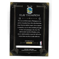 KLAY THOMPSON 2016 Panini Black Friday Cracked Ice /25 Warriors