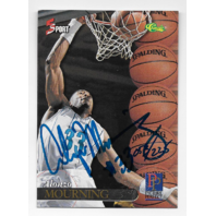 ALONZO MOURNING 94-95 Classic Picture Perfect auto/225 Charlotte Hornets Autograph