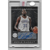 KEVIN DURANT 13-14 Panini Totally Certified auto #23 Oklahoma Thunder F autograph