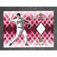 CAL RIPKEN JR 2002 Upper Deck Game-Worn Gems patch #G-CR SS Orioles