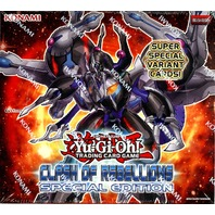 Yugioh Clash Of Rebellions Special Edition Box (10 Deck Boxes)(Sealed)