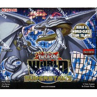Yugioh World Superstars 1st Edition Booster Box (24 packs)(Sealed)