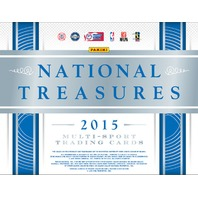 2015 Panini National Treasures Collegiate Multi-Sport Hobby 4 Box Case College