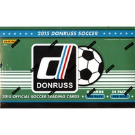 2015 Panini Donruss Soccer Hobby Box (Sealed)