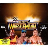 2015 Topps WWE Road To Wrestlemania Hobby Box (Sealed)
