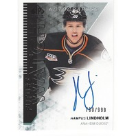 Hampus Lindholm Anaheim Ducks 2013-14 Future Watch Rookie Autograph /999
