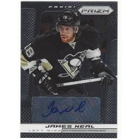 James Neal Pittsburgh Penguins 2013-14 Panini Prizm Autograph #A-JN