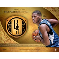 2016/17 Panini Gold Standard Basketball 12 Hobby Box Case (Sealed)