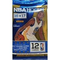 2016/17 Panini NBA Hoops Basketball 12 Card Hobby Pack (Sealed) (Random)