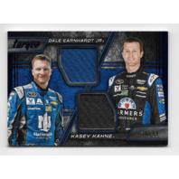 Dale Earnhardt Jr/Kasey Kahne NASCAR 2016 Panini Torque Blue Fire Suit Relic /99