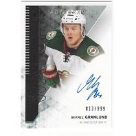 Mikael Granlund Minnesota Wild 2013-14 Future Watch Rookie Autograph /999