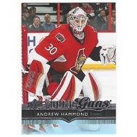 Andrew Hammond YG 14-15 Upper Deck Update Hockey Young Guns  Senators