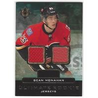 Sean Monahan Flames 2013-14 Ultimate Rookie Jerseys Card #URJ-SM RC