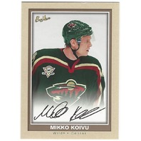 Mikko Koivu 2005-06 Beehive Beige Rookie Card #145 Minnesota Wild