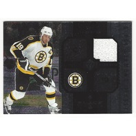 Joe Thornton 2005 Black Diamond Boston Bruins Game Used Jersey Card #J-JT