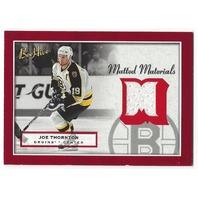 Joe Thornton 2005-06 Beehive Matted Materials  #MM-JT Boston Bruins