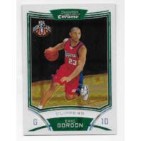 ERIC GORDON 2008/09 08-09 Topps Bowman Chrome X-Fractor Rookie RC /299 Clippers