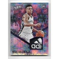 WADE BALDWIN IV 2016-17 Panini Day NBA Galactic Window patch /25 Grizzlies RC
