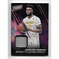 JAYLEN BROWN 2016-17 Panini Day NBA Galactic Window patch /25 California