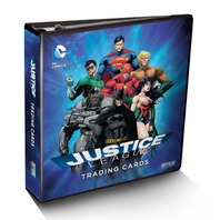 Cryptozoic Sealed DC Comics: Justice League Binder w/exclusive card & 10 Pages