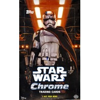 2016 Topps Star Wars Chrome: The Force Awakens 12 Hobby Box Case (Sealed)