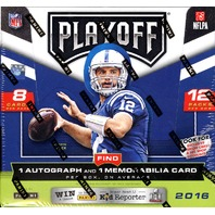 2016 Panini Playoff Football Hobby 12 Pack Box (Sealed)