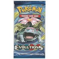 Three(3) Pokemon TCG XY Evolutions Trading Card Game Sealed Booster Pack (2016)