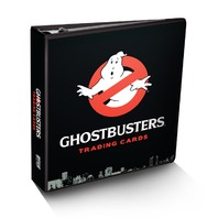 Cryptozoic Sealed Ghostbusters Binder w/exclusive ROOKIE Patch Card & 10 Pages