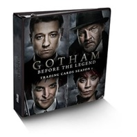 Gotham: Before the Legend Cryptozoic Sealed Binder w/exclusive card & 10 Pages