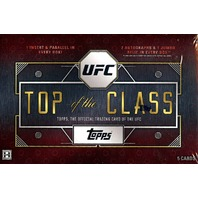 2016 Topps UFC Top Of The Class Hobby 16 Box Case (Sealed)