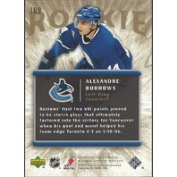 Alexandre Burrows Vancouver Canucs 2005-06 UpperDeck Rookie Update #189