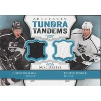 Justin Williams Dustin Penner  2013-14 UD Artifacts Tundra Tandems LA Kings