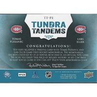 Tomas Plekanec Lars Eller 2013-14 UD Artifacts Tundra Tandems Canadians