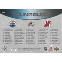 Nugent-Hopkins Landeskog Larsson 11-12 UD Series One Young Guns Checklist #250
