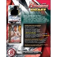 2017 Bowman Draft Picks & Prospects Baseball HTA Jumbo Hobby 8 Box Case (Sealed)