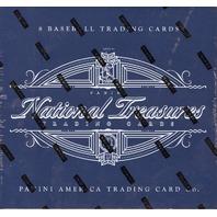 2017 Panini NT National Treasures Baseball Hobby Box (8 Card s)(Factory Sealed)