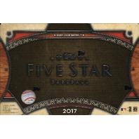 2017 Topps Five Star Baseball Hobby 8 Box Case (Sealed)