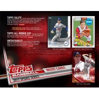 2017 Topps Update Series Baseball Jumbo Hobby 6 Box Case Look 4 Bellinger RC