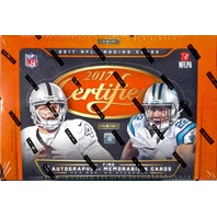 2017 Panini Certified Football Hobby 12 Box Inner Case (Sealed)