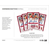 2017 Panini Contenders Collegiate Draft Football Hobby 12 Box Case (Sealed)