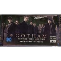 Gotham Before the Legend Season 2 Trading Cards Hobby Pack Sealed Cryptozoic2017